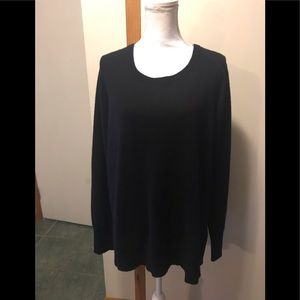 Halogen cashmere sweater black